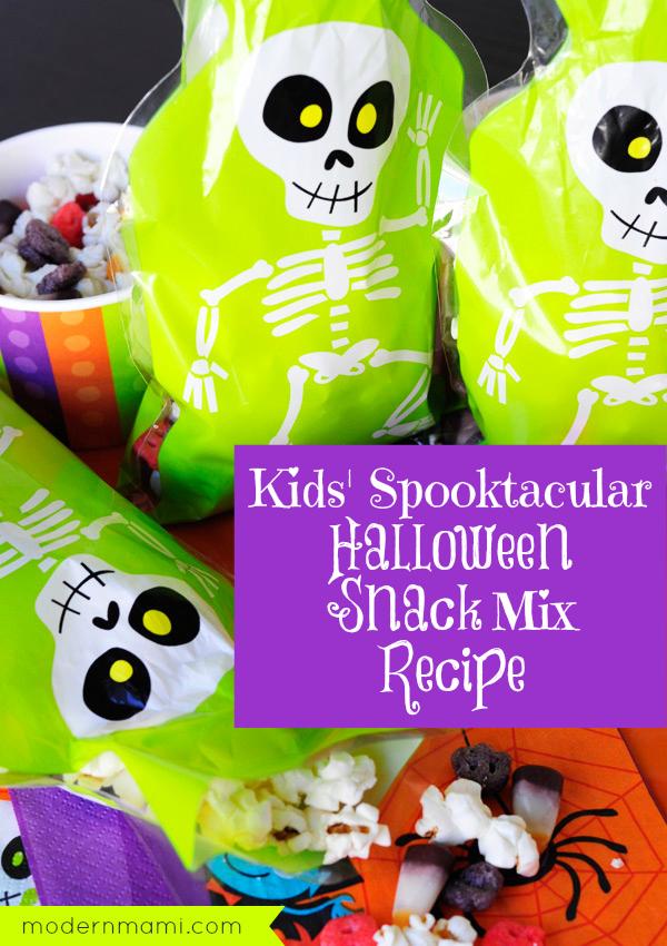 Kids' Halloween Snack Mix Recipe
