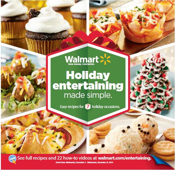 Walmart Holiday Entertaining Guide