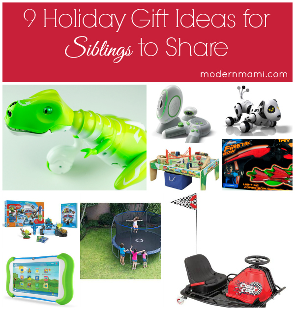 9 Holiday Gift Ideas for Siblings to Share | modernmami™