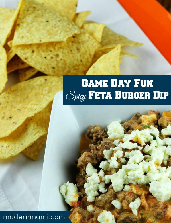 Game Day Recipe: Spicy Feta Burger Dip
