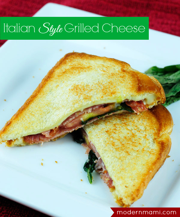 Italian-Style Grilled Cheese Sandwich Recipes — Dishmaps