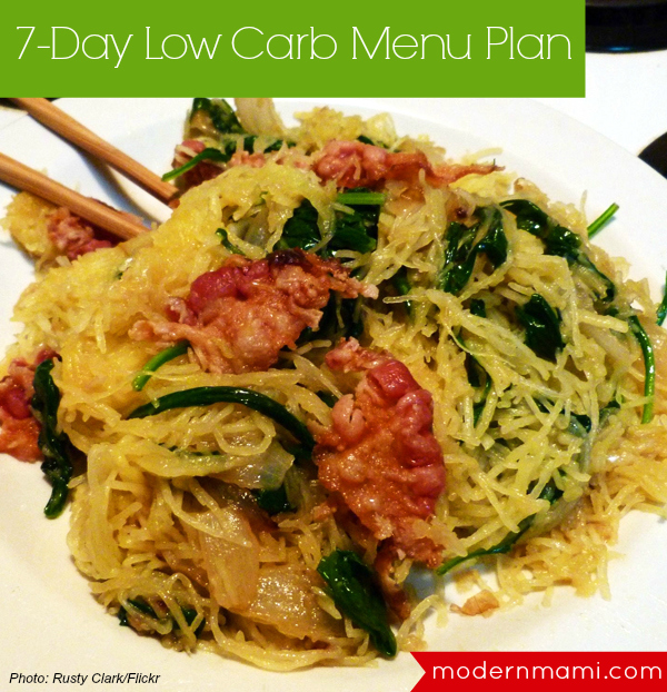 7 Day Low Carb Menu Plan: Healthier Eating for the New Year