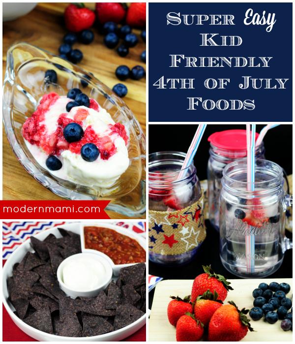 Kid Friendly Fourth of July Food