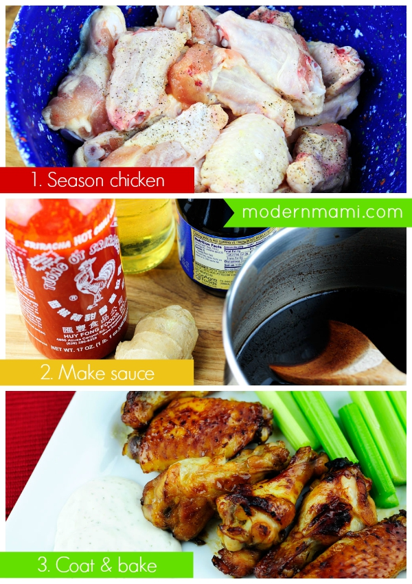 How to Make Sriracha Teriyaki Wings