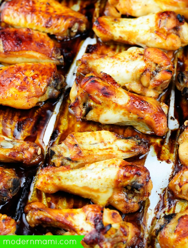 Sriracha Teriyaki Wings Recipe
