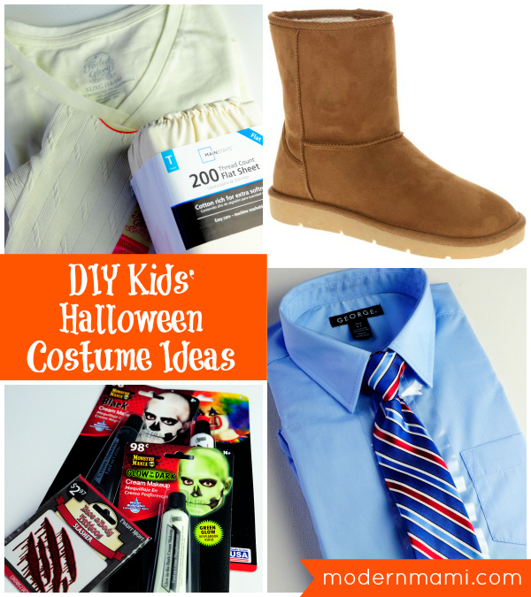 Diy halloween costumes for kids zombie ghost mummy for Diy halloween costume ideas for kids