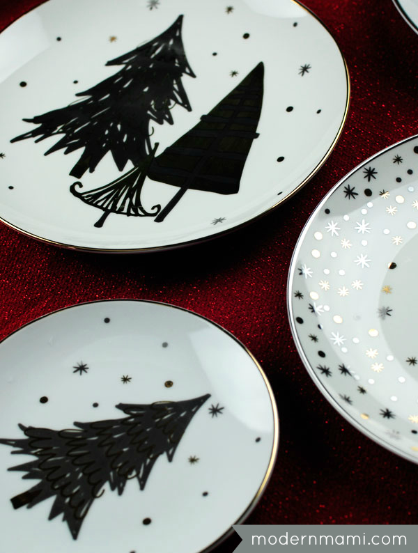 Festive holiday place setting special touch to christmas Better homes and gardens christmas special