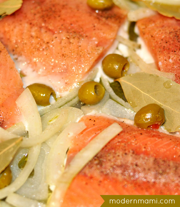 Ready for lent meatless fridays salmon en escabeche for Fish escabeche recipe