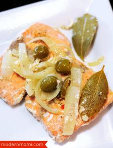 Salmon en Escabeche Recipe for Lent