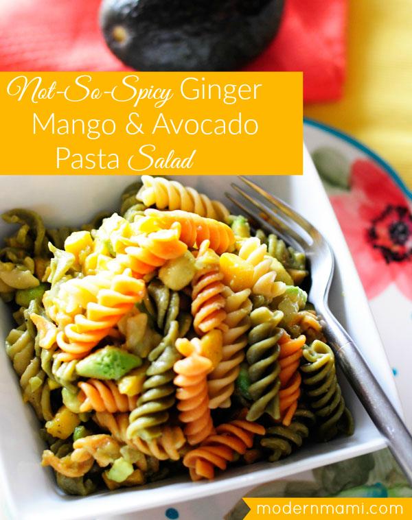 Shrimp mango pasta recipe