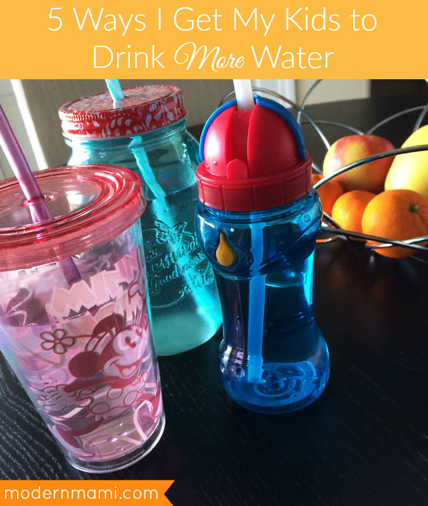 5 Ways I Get My Kids to Drink More Water