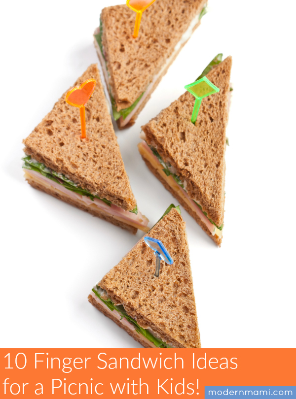 10 Finger Sandwich Ideas For A Picnic With Kids Modernmami