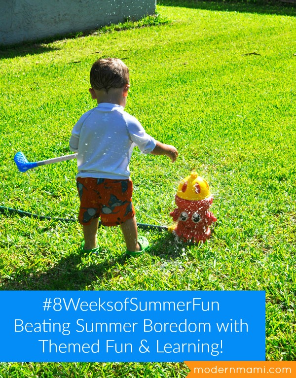 Summer Fun for Kids: 8 Weeks of Themed Ideas for Summer Camp at Home!