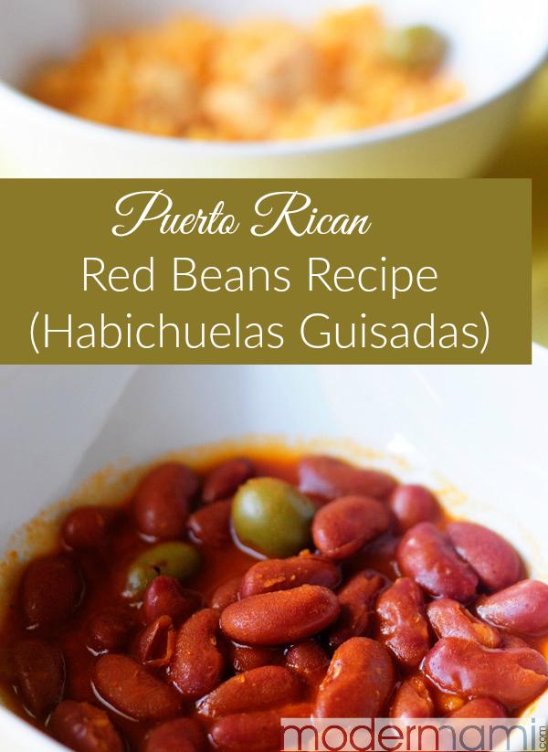 Puerto Rican Red Beans Recipe (Habichuelas Guisadas)