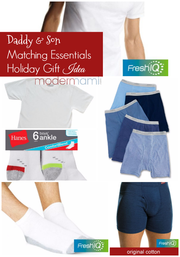 Holiday Gift for Him Idea: Daddy & Son Matching Essentials