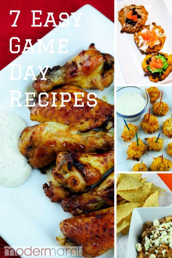 7 Easy Game Day Recipes for The Big Game