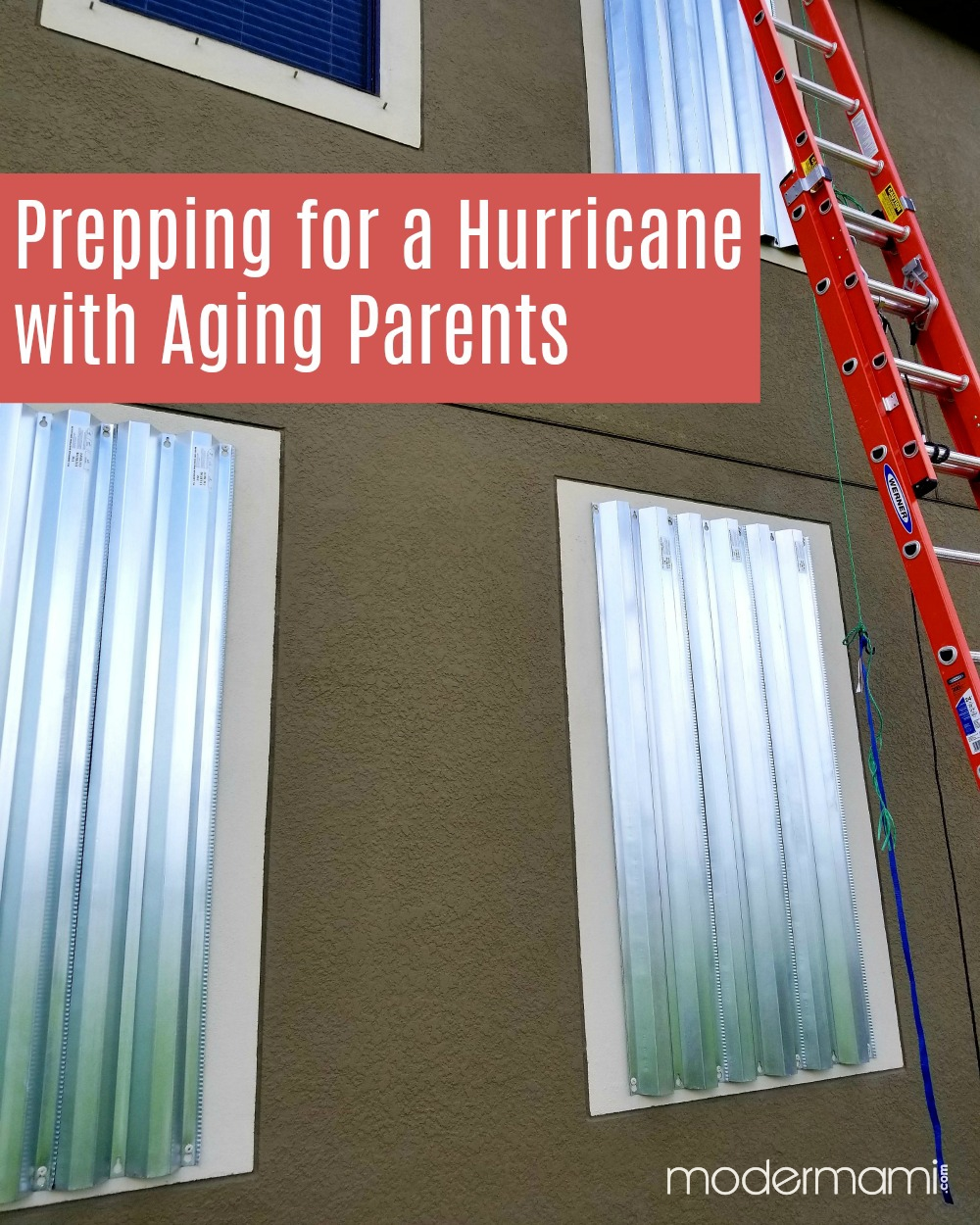 Prepping for a Hurricane with Aging Parents